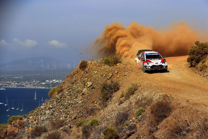 """Ogier needs """"a little luck"""" to close in on WRC points leader Evans"""