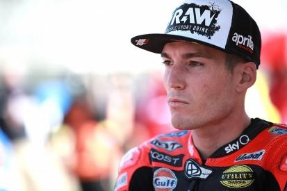 """Espargaro """"can't go faster"""" on current MotoGP Aprilia"""