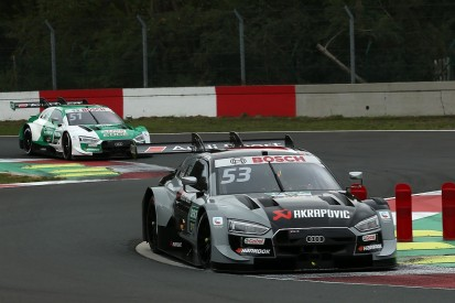 "Muller slams Green's ""over the border"" defending at Zolder DTM"