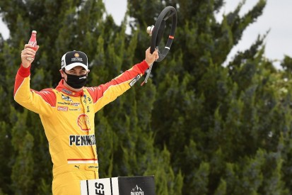 Kansas NASCAR: Logano secures championship race spot with victory