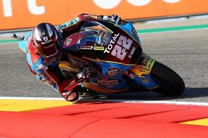 Aragon Moto2: Lowes wins as Bastianini takes points lead after VR46 duo crash