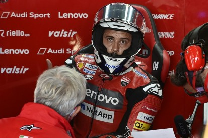 """Dovizioso: Ducati team-mate Petrucci """"wasn't smart"""" in Aragon MotoGP Q1"""