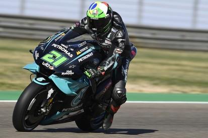 Aragon MotoGP: Morbidelli heads FP3 times as Quartararo crashes heavily