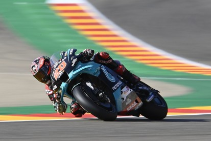 Quartararo expects Ducati fightback after tough Aragon GP Friday