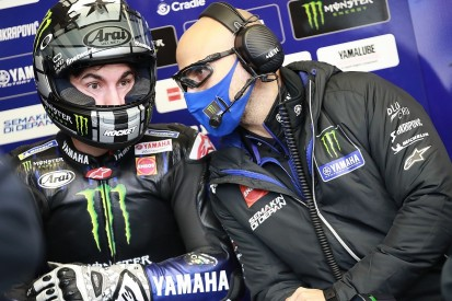 Aragon MotoGP: Vinales tops Yamaha 1-2-3 in FP1 as Quartararo crashes