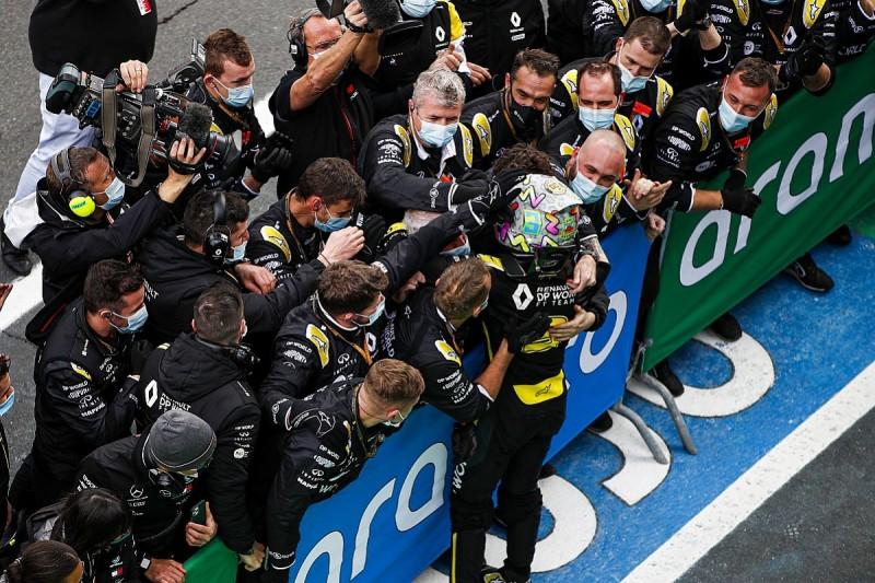 "Renault needs to make F1 team ""addicts to success"" after Eifel GP podium"