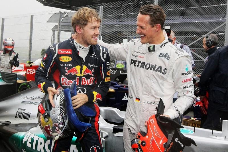 Vettel: Schumacher still best-ever F1 driver despite Hamilton's records