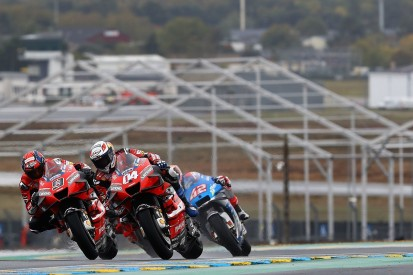 """Dovizioso """"paid"""" for wrong MotoGP tyre choice in wet French GP"""