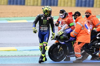 "Rossi ""didn't understand"" why he crashed in MotoGP French GP"
