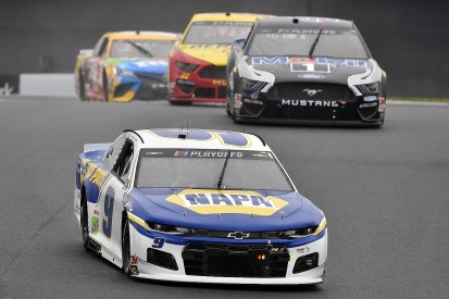 NASCAR Charlotte: Elliott wins with Kyle Busch eliminated from Playoffs
