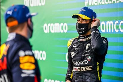 "Ricciardo: Abiteboul tattoo ""going to happen"" after Eifel GP podium"