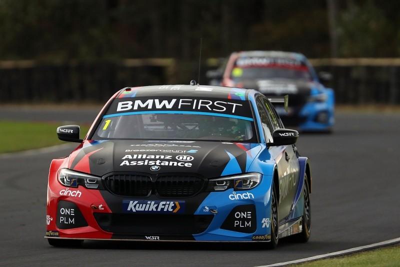 BTCC Croft: Turkington dominates for BMW in free practice