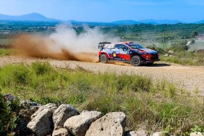 WRC Rally Italy: Hyundai's Sordo holds Sardinia lead on opening day