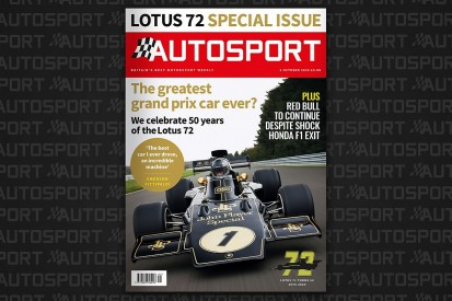 Magazine: Lotus 72's F1 anniversary special