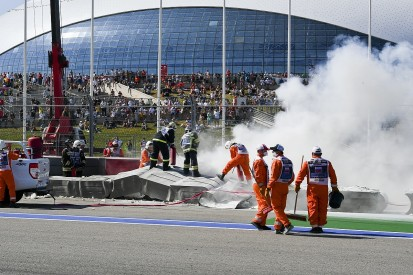 FIA explains marshals' delay in dealing with fire in F2 Sochi sprint race