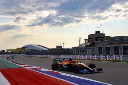 Sainz: Wind direction could hurt McLaren in Russian GP