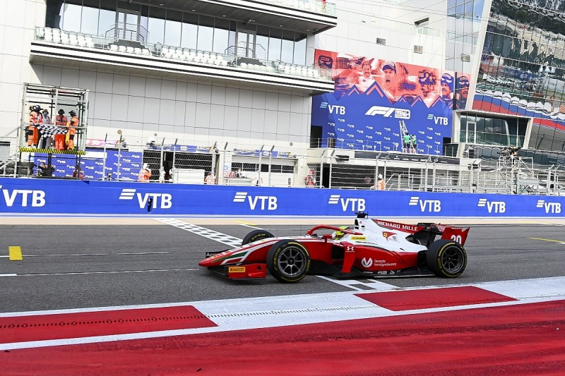 Four F2 teams lodge intention to appeal against Schumacher's Sochi win