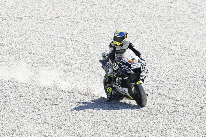 "Crutchlow's Q2 Catalan MotoGP hopes ""wrecked"" by Rabat"