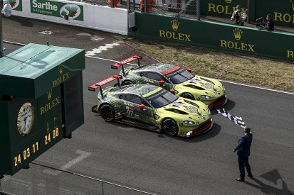 "Not changing brakes a ""key point"" in Aston's Le Mans 24 Hours GTE sweep"