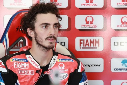 """Bagnaia: Lead crash in Emilia Romagna GP caused by """"something dirty on track"""""""