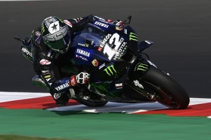 Emilia Romagna MotoGP: Vinales wins after late crash for Bagnaia