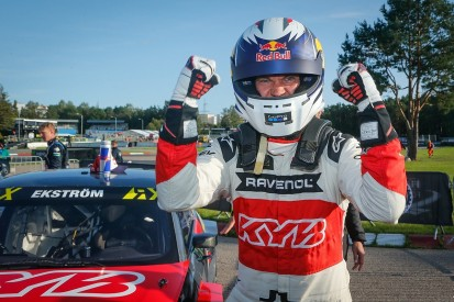 Riga World Rallycross: Ekstrom beats Kristofferson to second Latvia WRX win