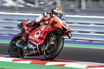 Emilia Romagna MotoGP: Bagnaia beats Misano lap record to top FP3
