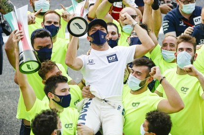"""Gasly: AlphaTauri F1 team """"more motivated than ever"""" after Monza win"""