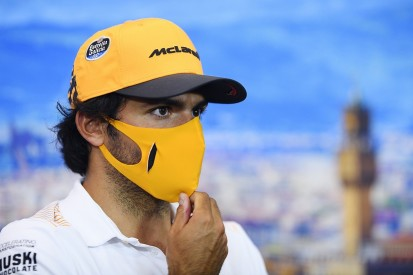 "Sainz ""a little angry"" about Perez's F1 situation after Racing Point exit"