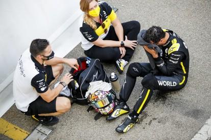 "Ricciardo ""frustrated"" by Albon's F1 podium pace in Tuscan GP"