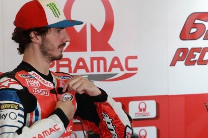 Bagnaia 'wasn't expecting' maiden MotoGP podium at Misano