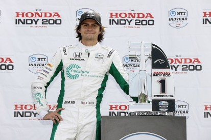 Herta: IndyCar Mid-Ohio win came despite wrong tyre strategy