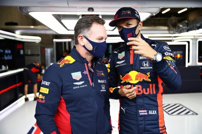 """Horner: """"Too nice"""" Albon will take confidence boost from Tuscan GP podium"""