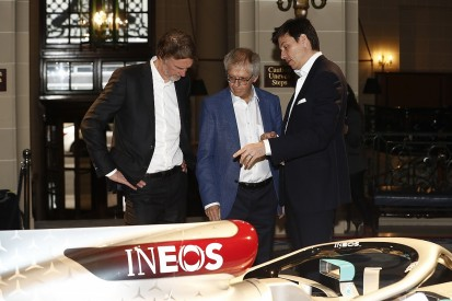 Wolff plays down increased INEOS involvement in Mercedes F1 team