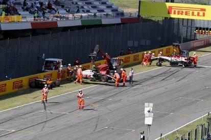 Twelve F1 drivers given warning over pile-up on Tuscan GP safety car restart