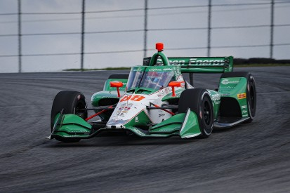 Mid-Ohio IndyCar: Herta grabs pole for race two after rain-hit qualifying
