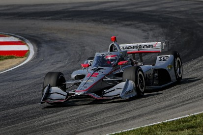Mid-Ohio IndyCar: Power on pole for race one as points leader Dixon is 17th
