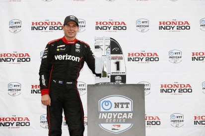 Mid-Ohio IndyCar: Power takes commanding win in race one, Dixon only 10th