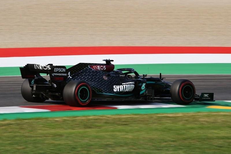 F1 Tuscan GP: Hamilton takes pole position at Mugello from Bottas