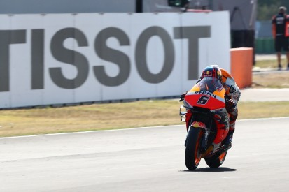 Bradl trials radio warning system in Misano MotoGP practice