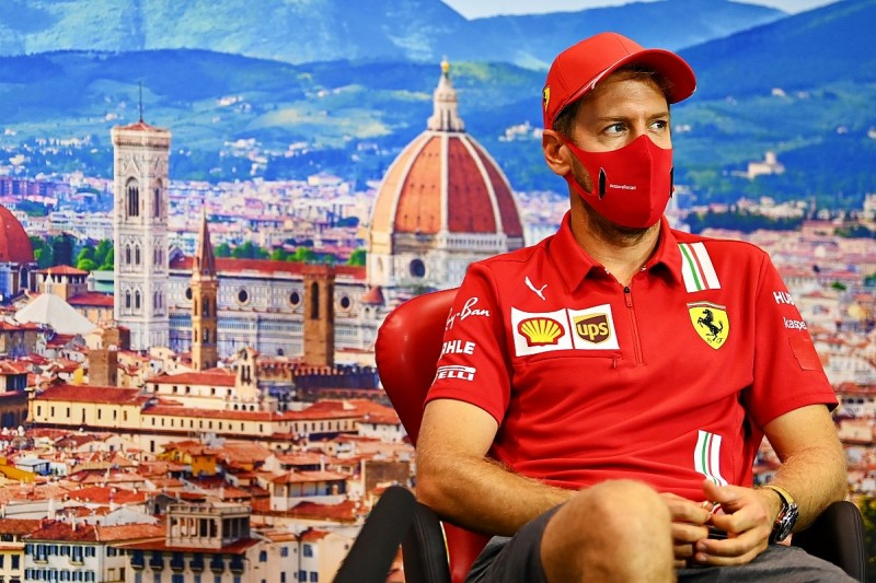 Vettel: No regrets over my time with Ferrari in F1