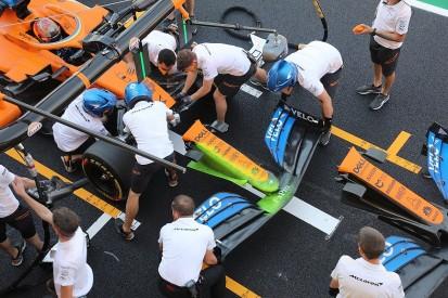 McLaren runs Mercedes-style nose in F1 Tuscan GP practice