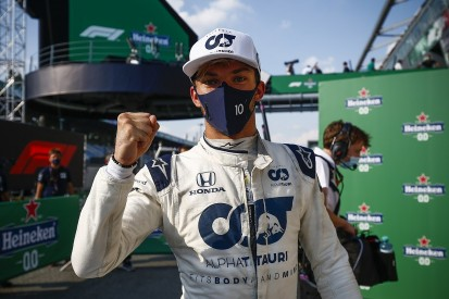"""Gasly """"would never have expected"""" Monza F1 win after Red Bull drop"""
