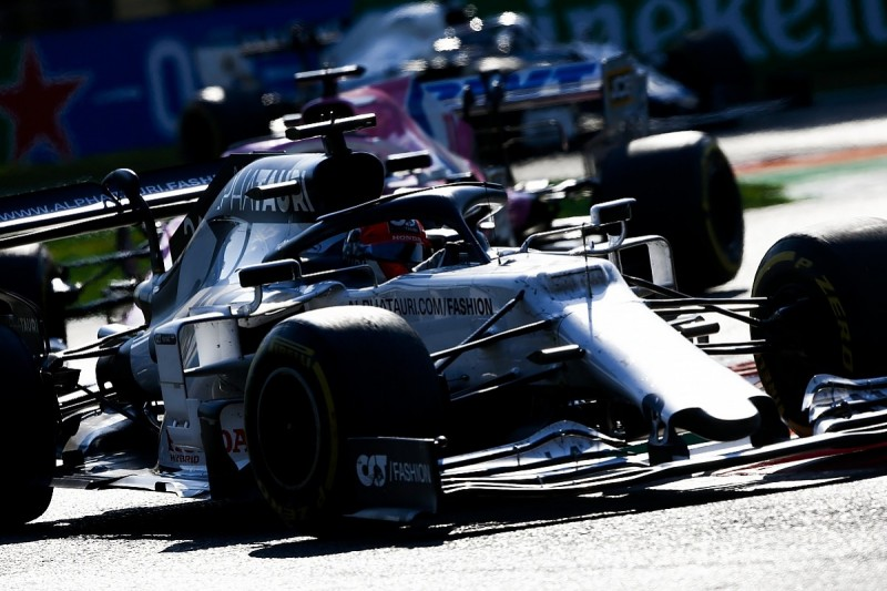 Kvyat: Worst case scenario helped AlphaTauri F1 team-mate Gasly win