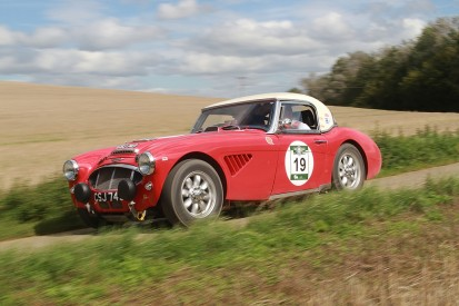 Classic rallying restarts in UK with HERO event