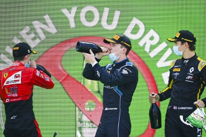 Ticktum loses Monza F2 sprint race victory over fuel sample