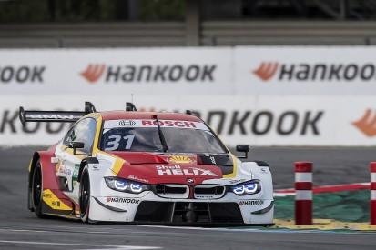 Assen DTM: Van der Linde wins red-flagged race after Scherer crash