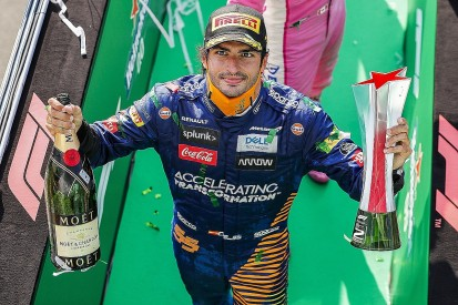 """Sainz """"halfway disappointed"""" to miss maiden win in Italian Grand Prix"""