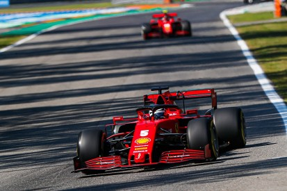 "Vettel: ""Difficult"" Ferrari F1 car is a ""handful"" to drive at Monza"