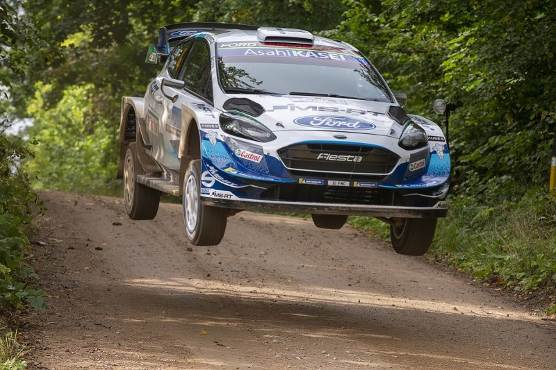 WRC Rally Estonia: M-Sport's Lappi draws first blood in opening stage